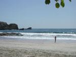 Robyn on Playa Pelada