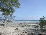 We walked down to Playa Pelada, the next beach down the coast.